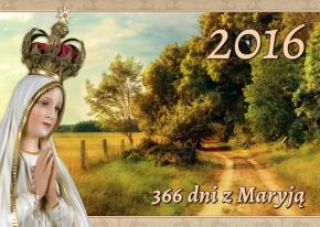 """kalendarz """"366 dni z Maryją"""" na rok 2016"""